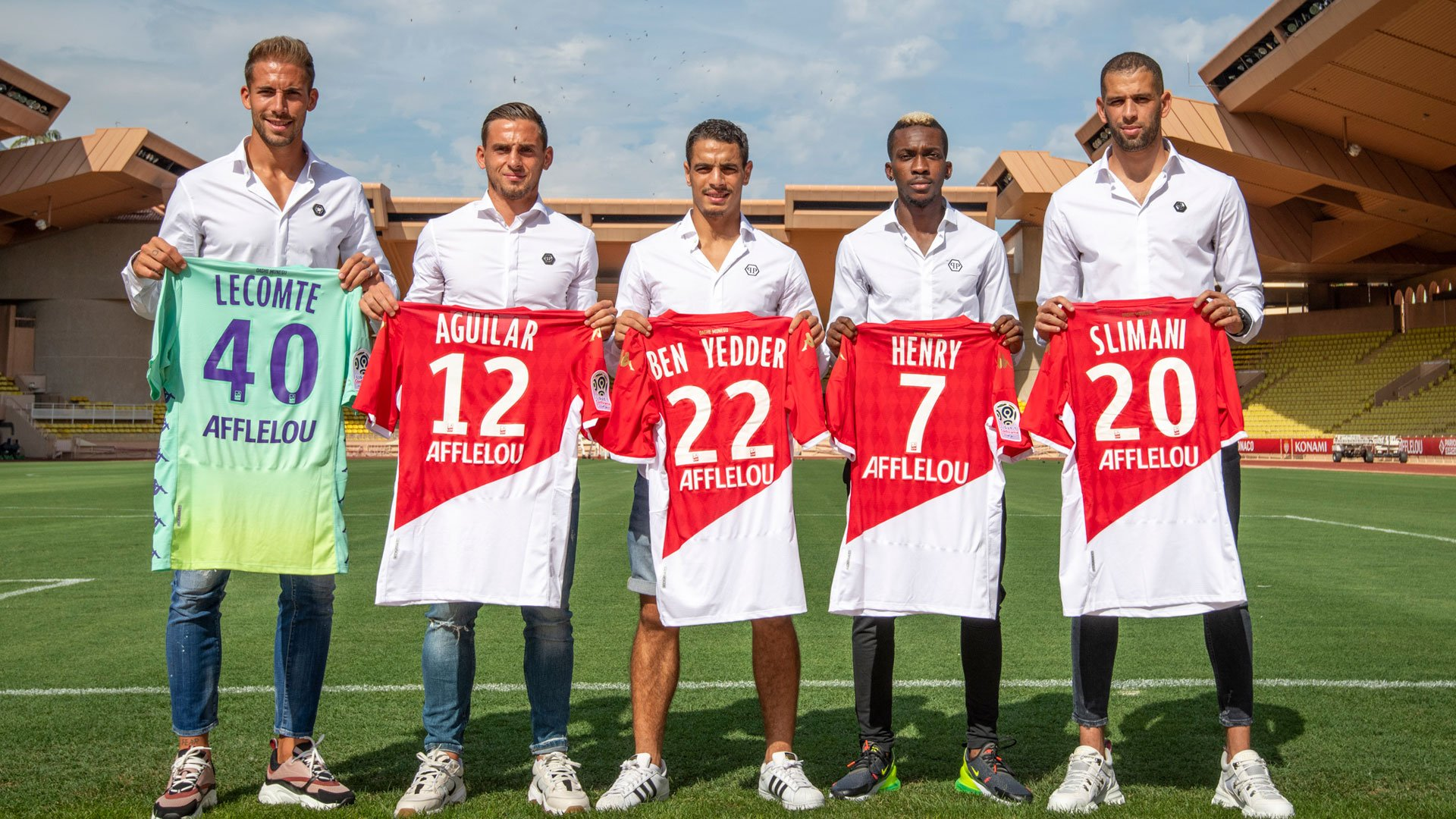 Algeria Star Slimani, Onyekuru, Other New Signings Unveiled By Monaco