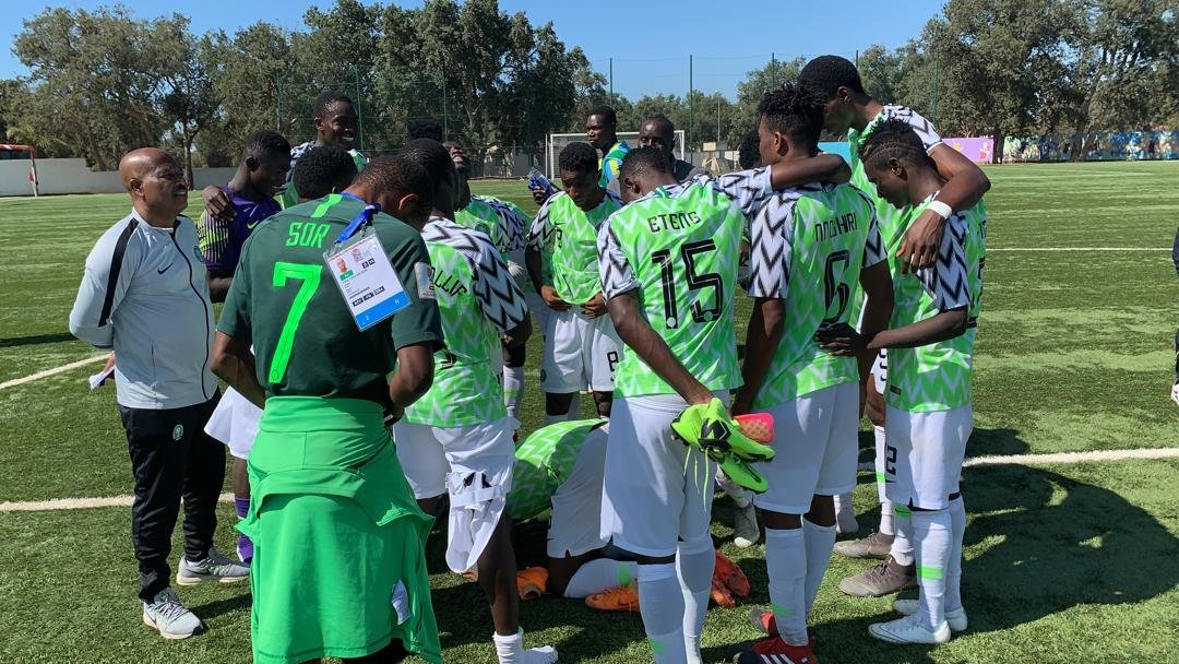 12th AAG: Flying Eagles Edge Out Mali On Penalties,  Reach Final
