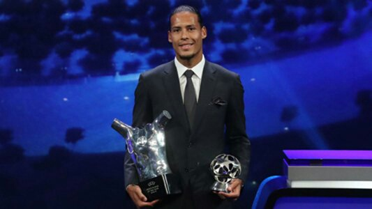 Klopp: Van Dijk's UEFA Award A Team Effort