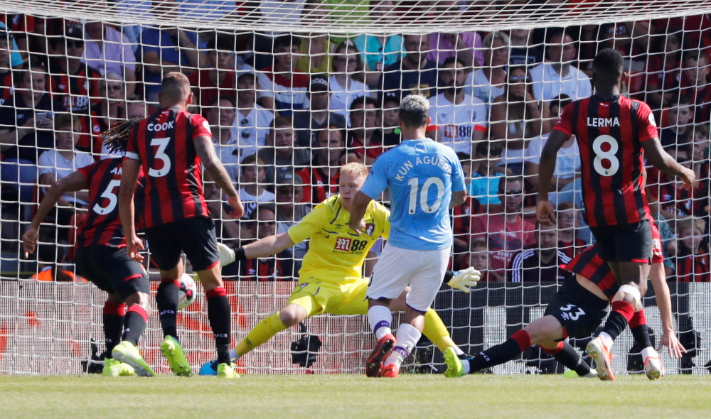 Bournemouth 1-3 Manchester City