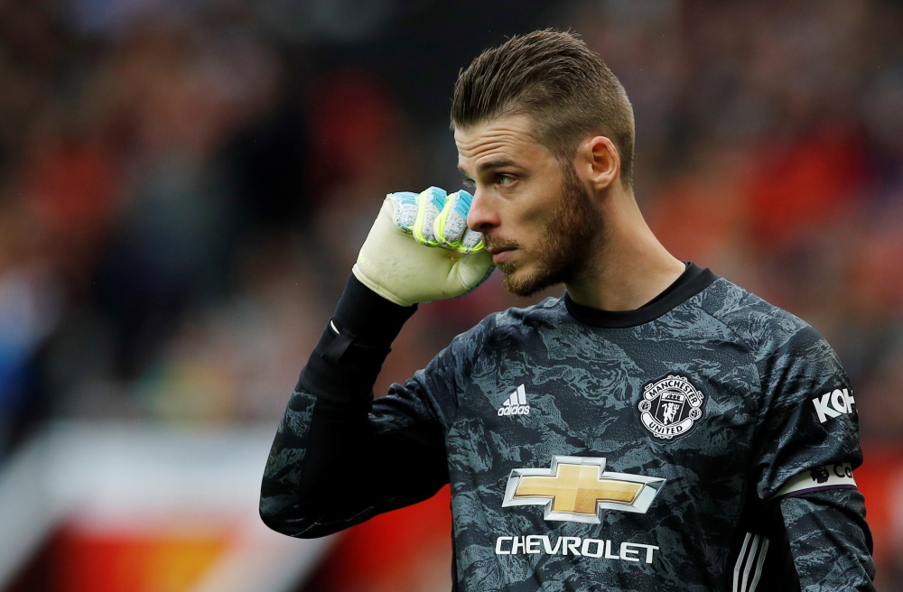 De Gea In Danger Of Losing Spanish Number One Shirt For Good
