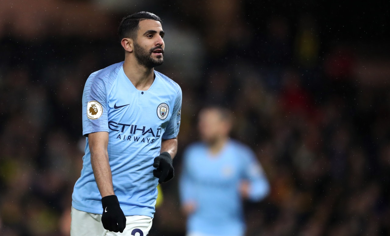 Pep Explains Mahrez Absence