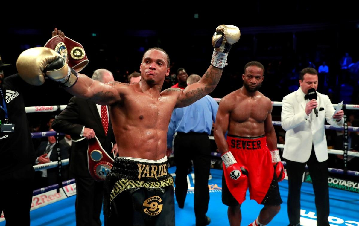 Yarde Just Falls Short In Kovalev Bout