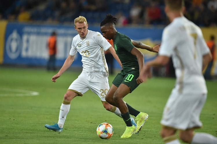 Aribo: I'm Happy To Score On My Debut For Nigeria
