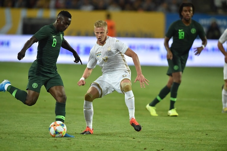 Ikpeba: Young Eagles Great In Draw Vs Ukraine; Need Complete Concentration