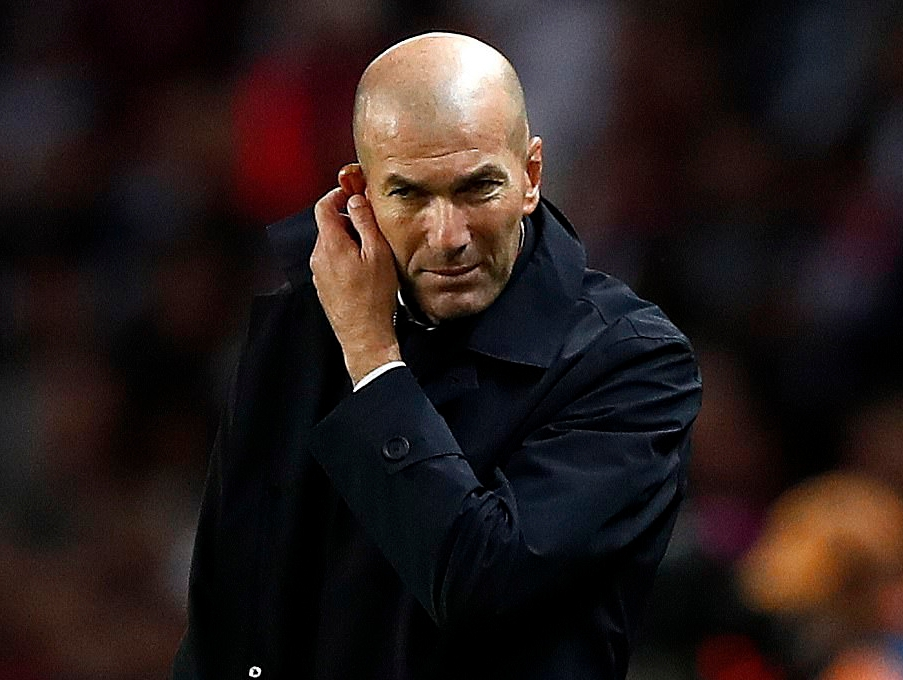 UCL: Zidane Admits Madrid Midfield Collapsed In Heavy Defeat At PSG