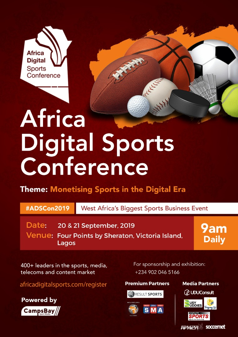 Africa Digital Sports Conference Set For Friday 20 September