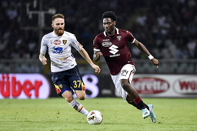 Aina In Shock Home Loss With  Torino Against Lowly Lecce