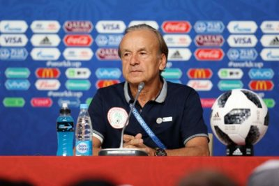 Rohr May Dump Super Eagles after Brazil Friendly