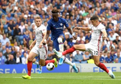 tammy-abraham-chelsea-sheffield-united-stamford-brodge-premier-league-epl-the-blues-frank-lampard