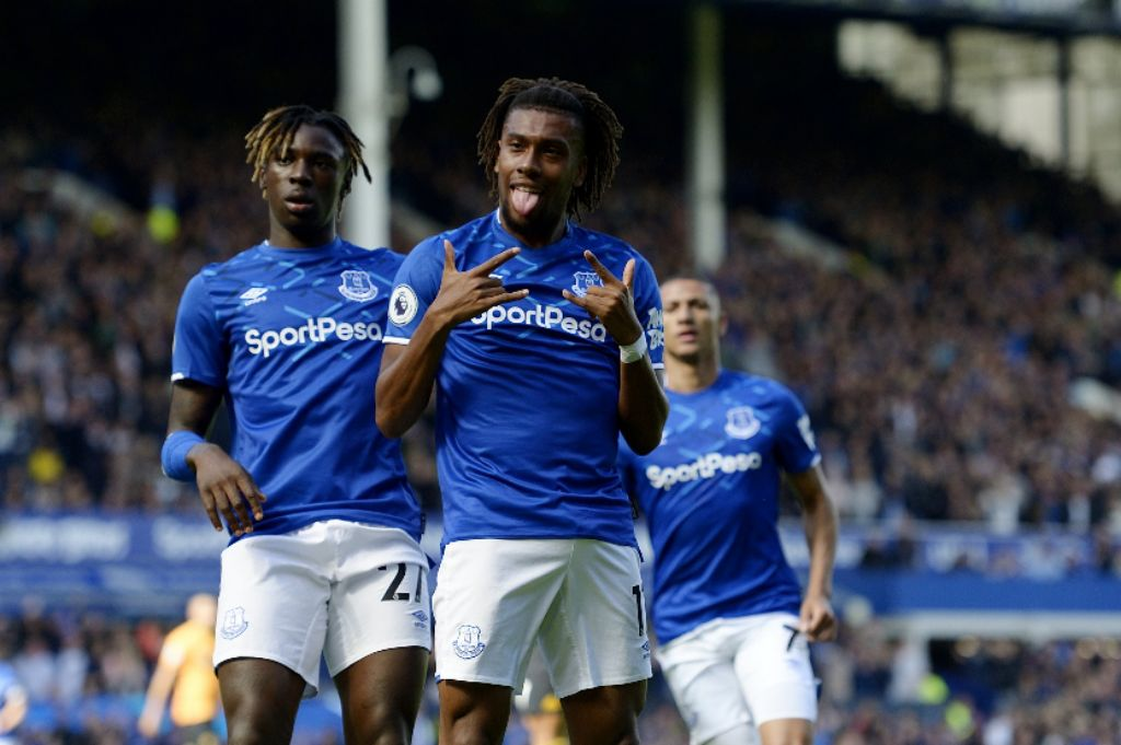 Iwobi Scores In First League Start For Everton In Home Win Vs Wolves