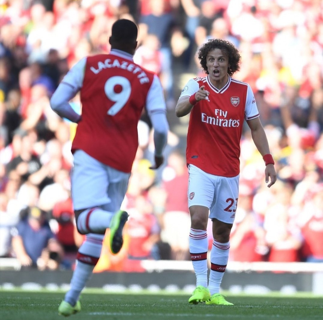 Luiz: Arsenal Defenders Must Accept Blame For Mistakes In Draw Vs Spurs