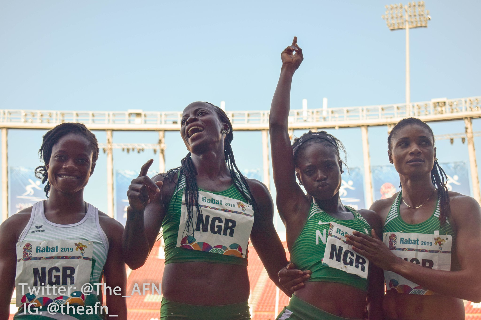 SWAN Congratulates Team Nigeria For Finishing 2nd At 12th AAG