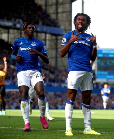 Silva wants iwobi to maintain top form with Everton