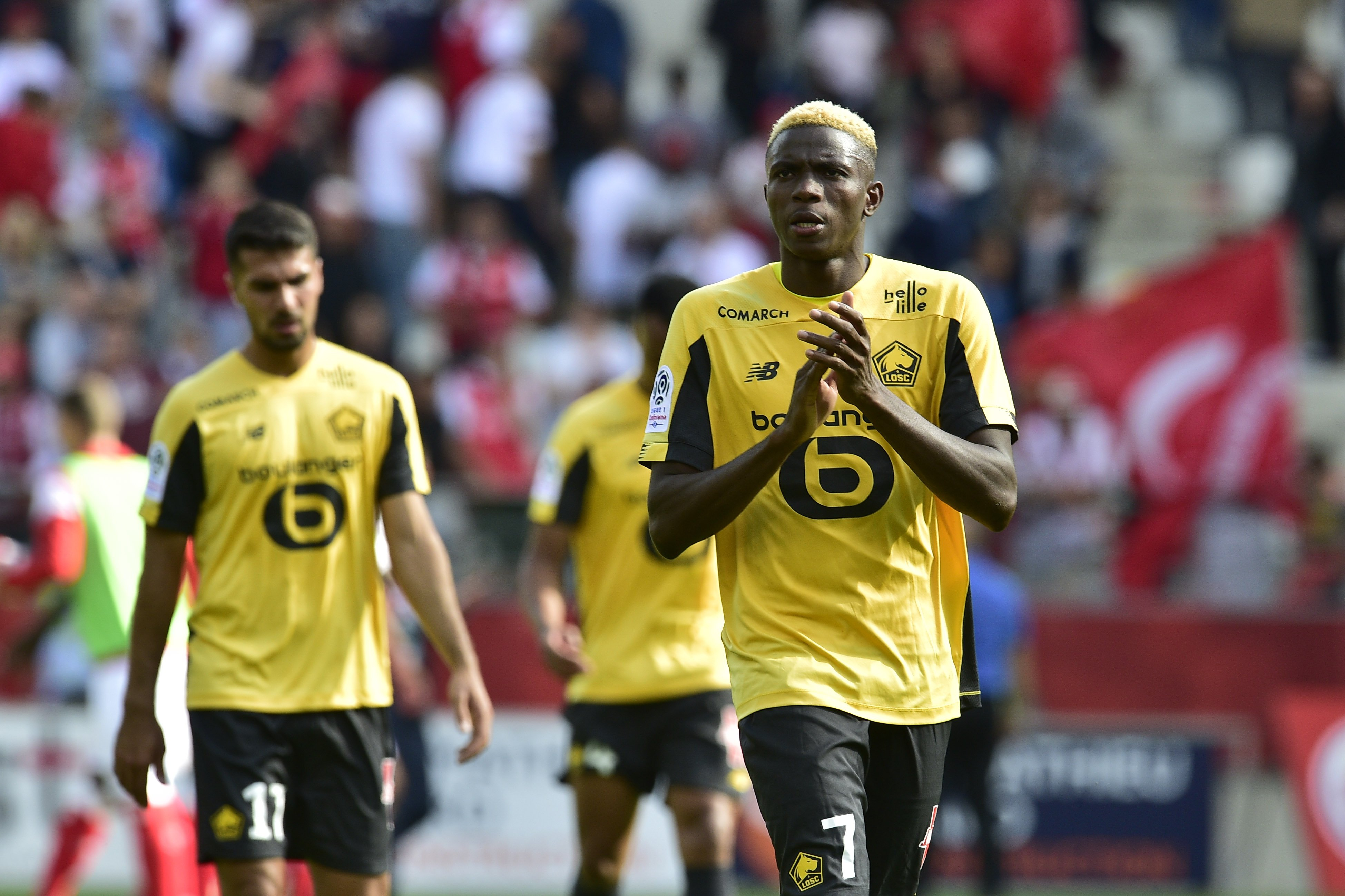 Osimhen Wins Lille Player Of The Month Award