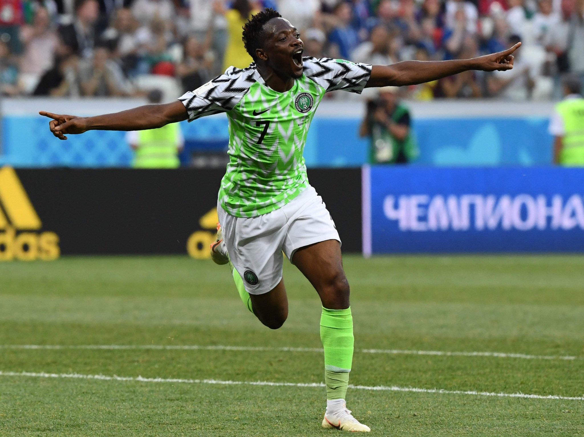 Musa Out Of Super Eagles, Ukraine Friendly Due To Injury