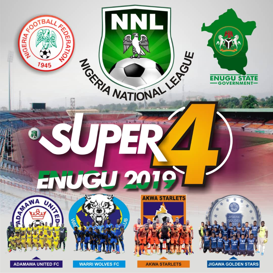 2019 NNL Super 4:  Akwa Starlets Battle Warri Wolves In Playoffs Matchday 1