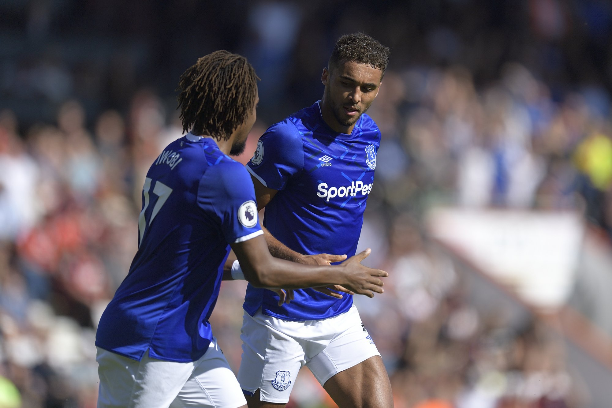 EPL: Iwobi In Action As Man City Edge Out Everton 3-1 At Goodison Park