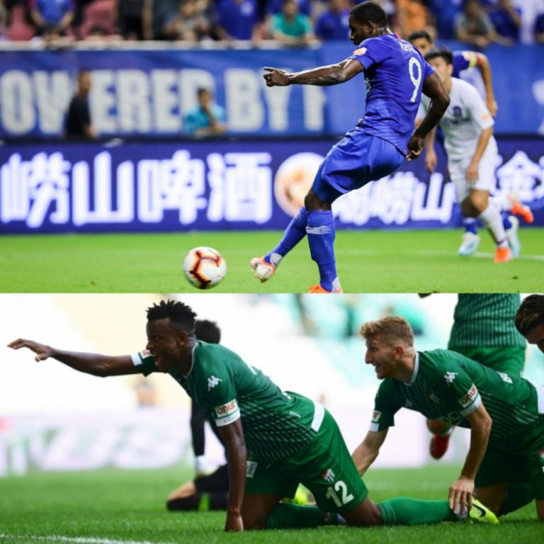 Roundup: Ighalo Misses Spot Kick In Shenhua Home Defeat; Shehu On Target; Simon, Collins Also In Action