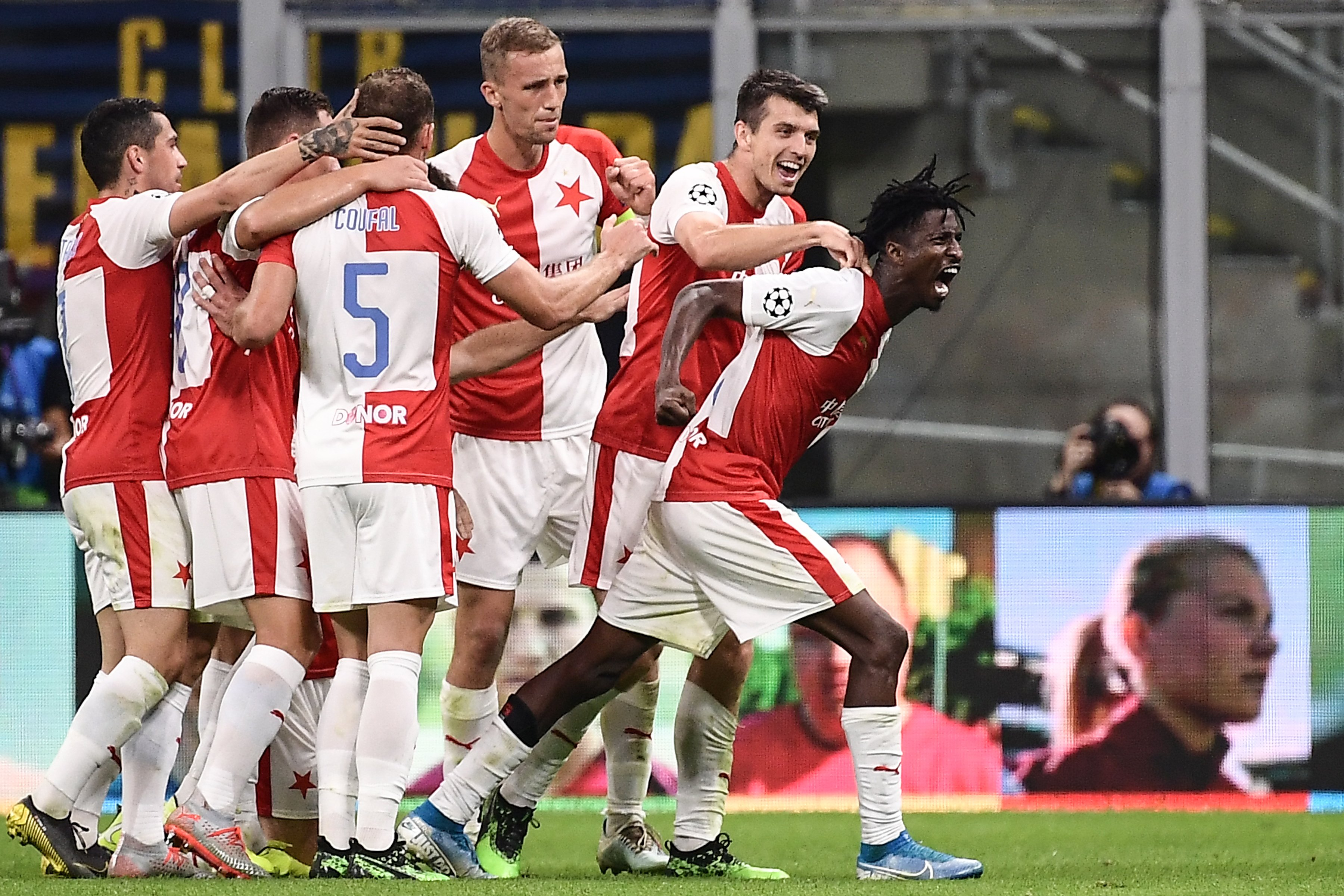 Champions League: Olayinka Scores In Slavia Prague Away Draw At Inter, Abraham,  Osimhen,  Onuachu Caged