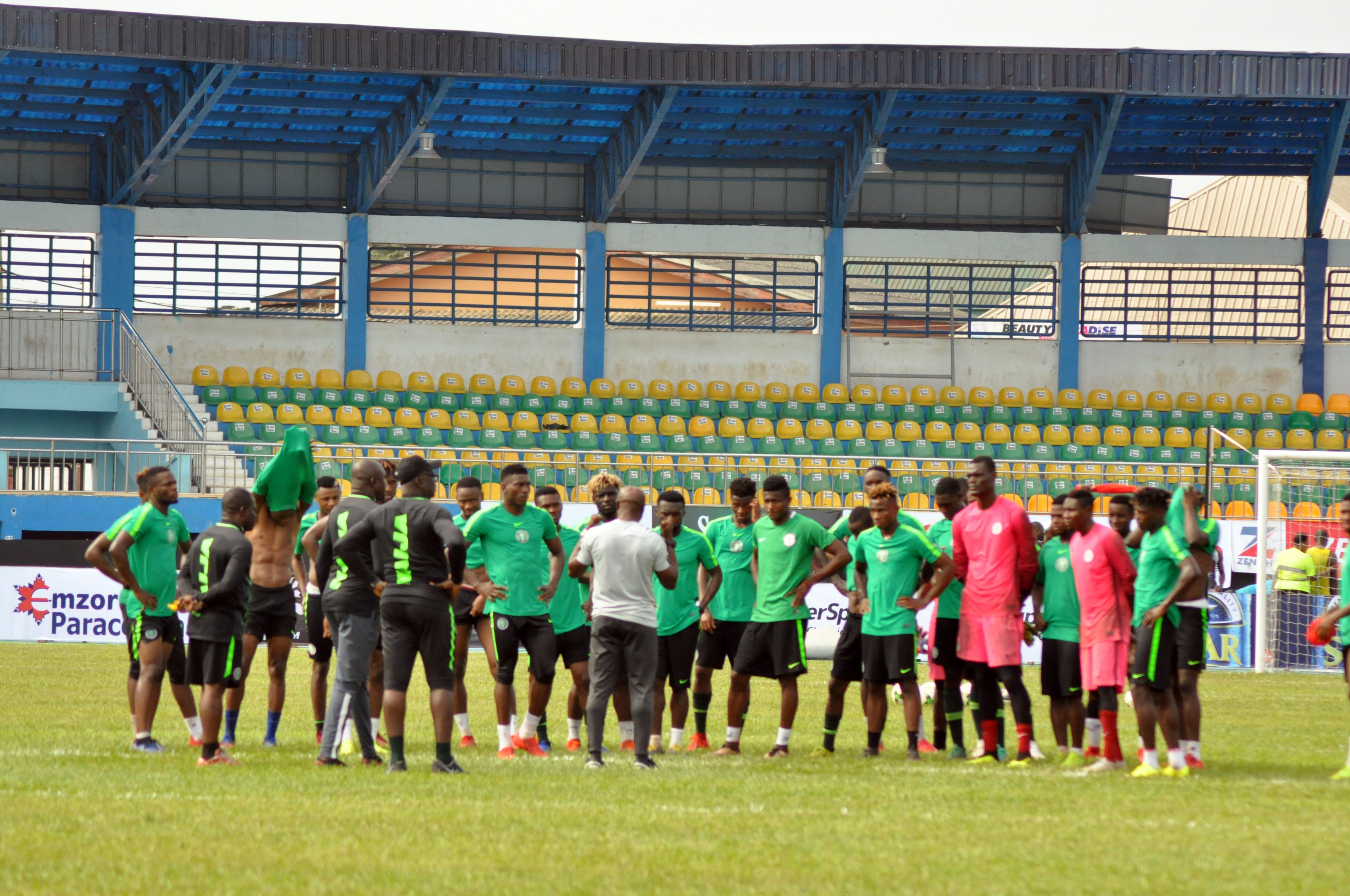 U-23 AFCON:  Nigeria Draw South Africa, Zambia, Cote d'l voire In Group  B