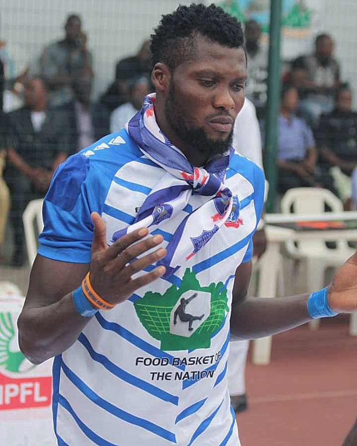 Alimi Excited To Make Nigeria Squad For CHAN 2020 Qualifier Vs Togo