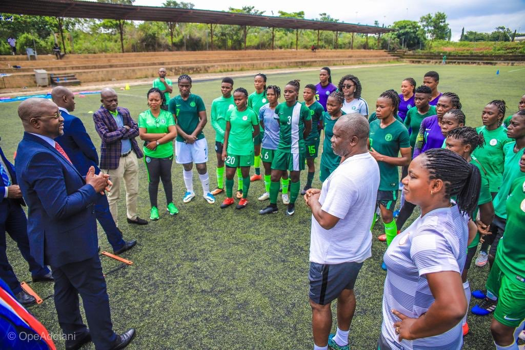 Olympic Qualifiers: Super Falcons  Lose To Men's Team In Buildup Game Ahead CIV Clashes