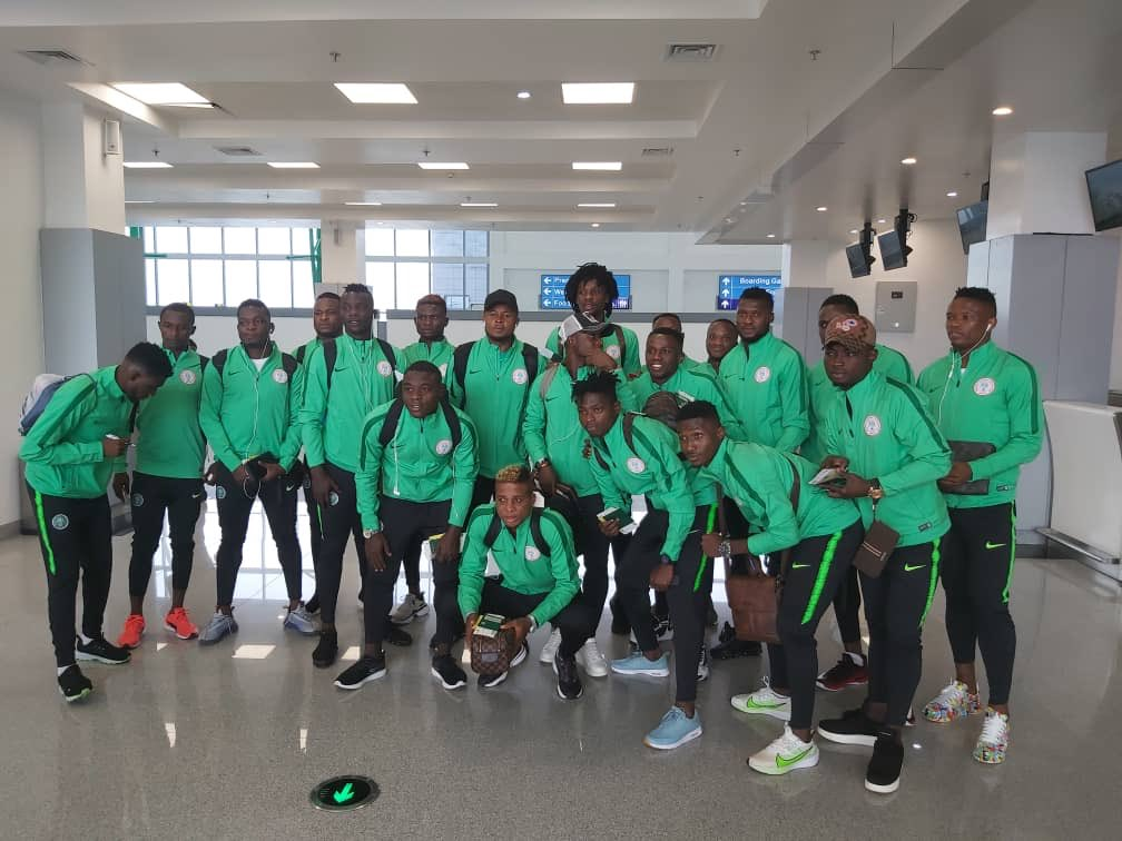 Home-Eagles Off To Lome For Togo Clash