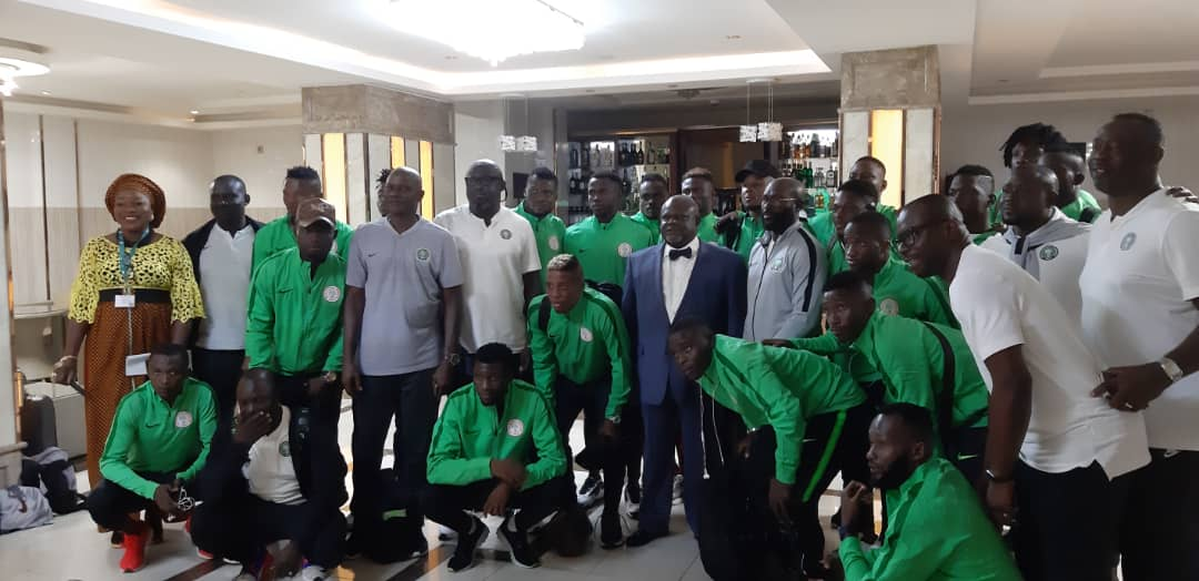 CHAN 2020 Qualifier: Nigeria Ambassador Charges Home- Eagles To Beat Togo  In Lome