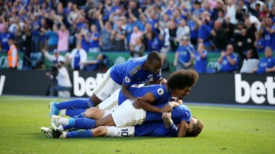 Ndidi Revels in Leicester City win against Spurs