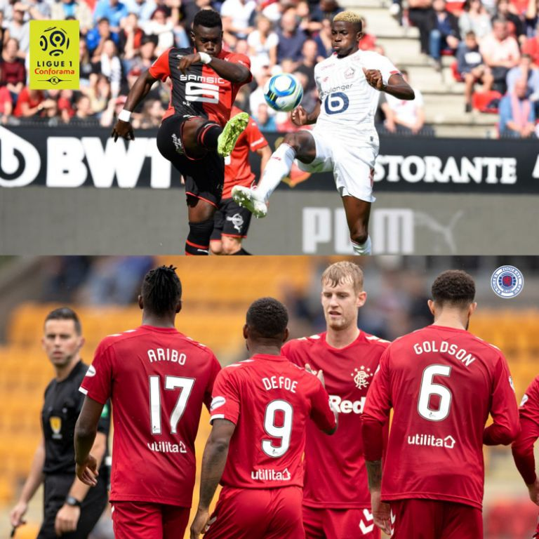 Eagles Roundup: Osimhen, Aribo Bag Assists; In Lille Away Draw, Rangers Win At Johnstone