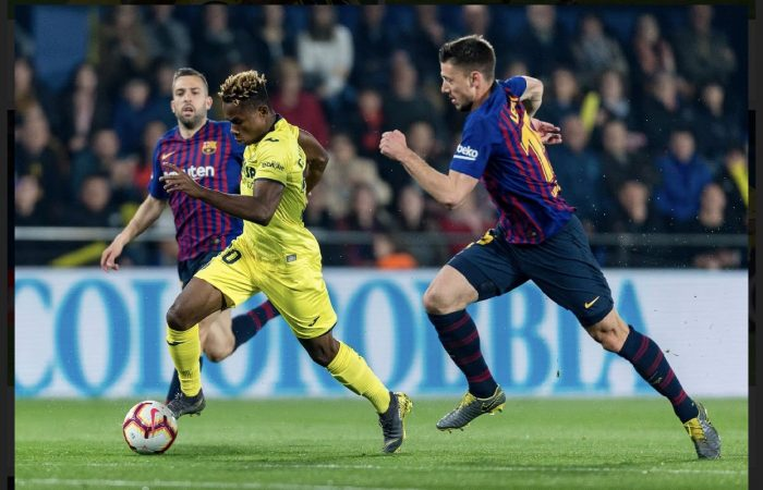 Barcelona Target Chukwueze As Alternative To Neymar