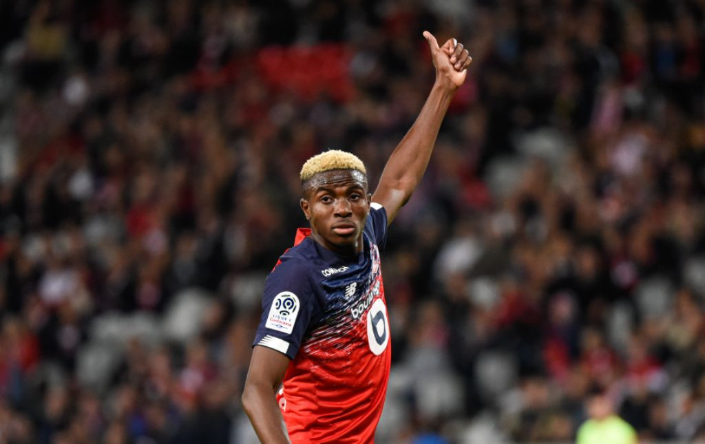 Osimhen Thrilled To Score For Lille At Home Again In Win Vs Strasbourg