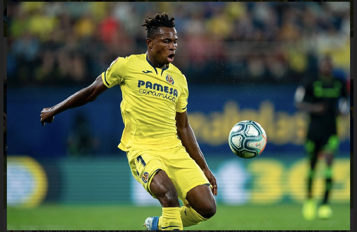 Chukwueze Set To Sign New Four Year-Deal At Villarreal