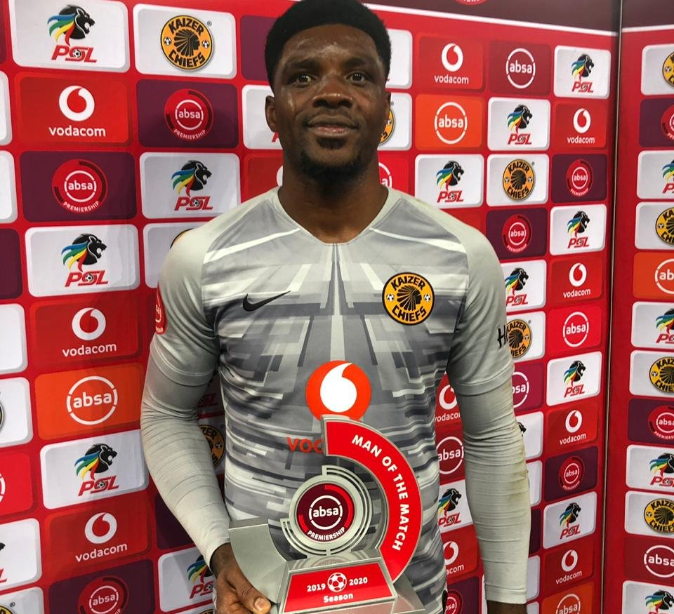 Akpeyi Named Man Of The Match In Kaizer Chiefs' Hard Fought Home Win Vs Baroka