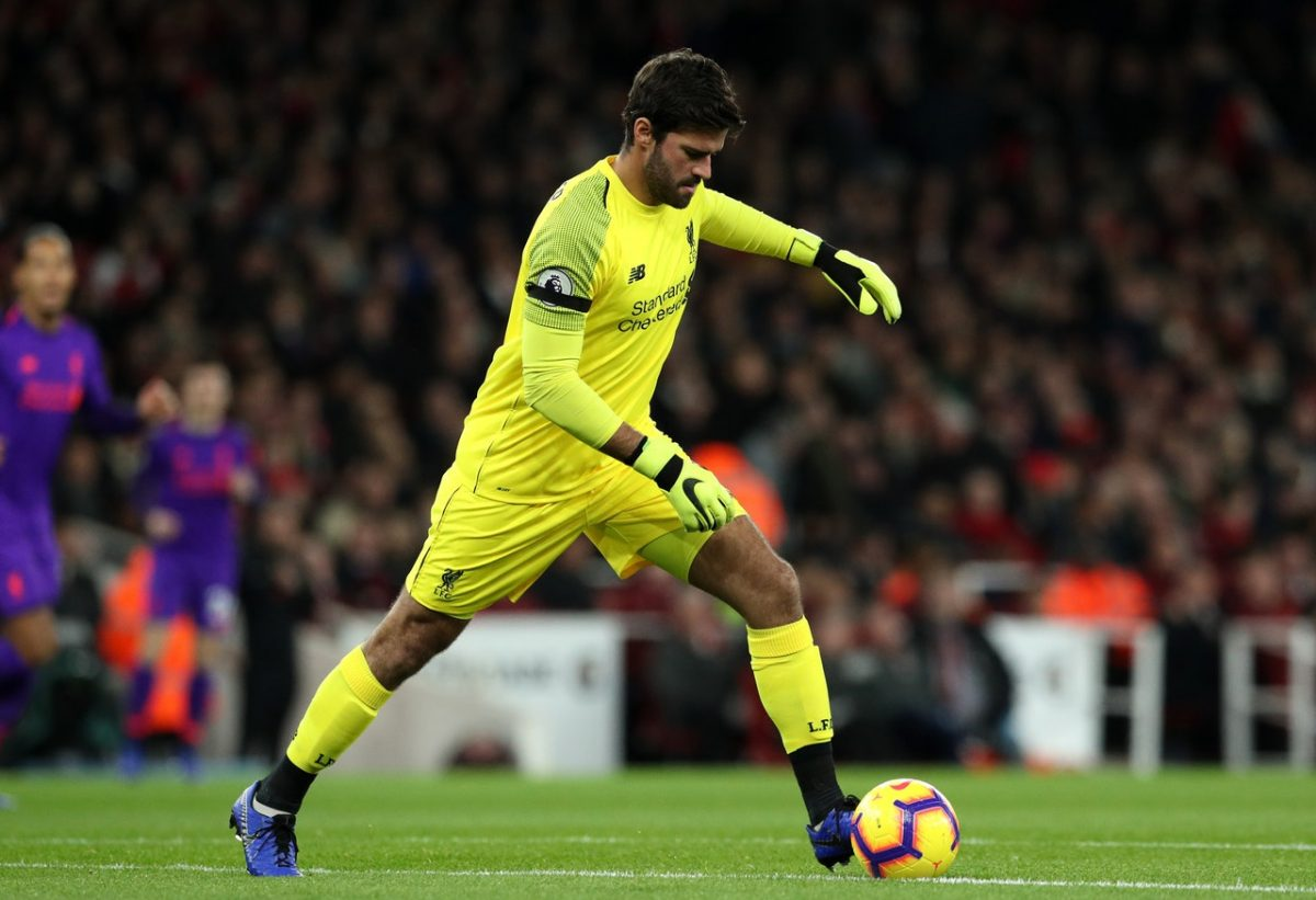 Alisson Closes In On Liverpool Return