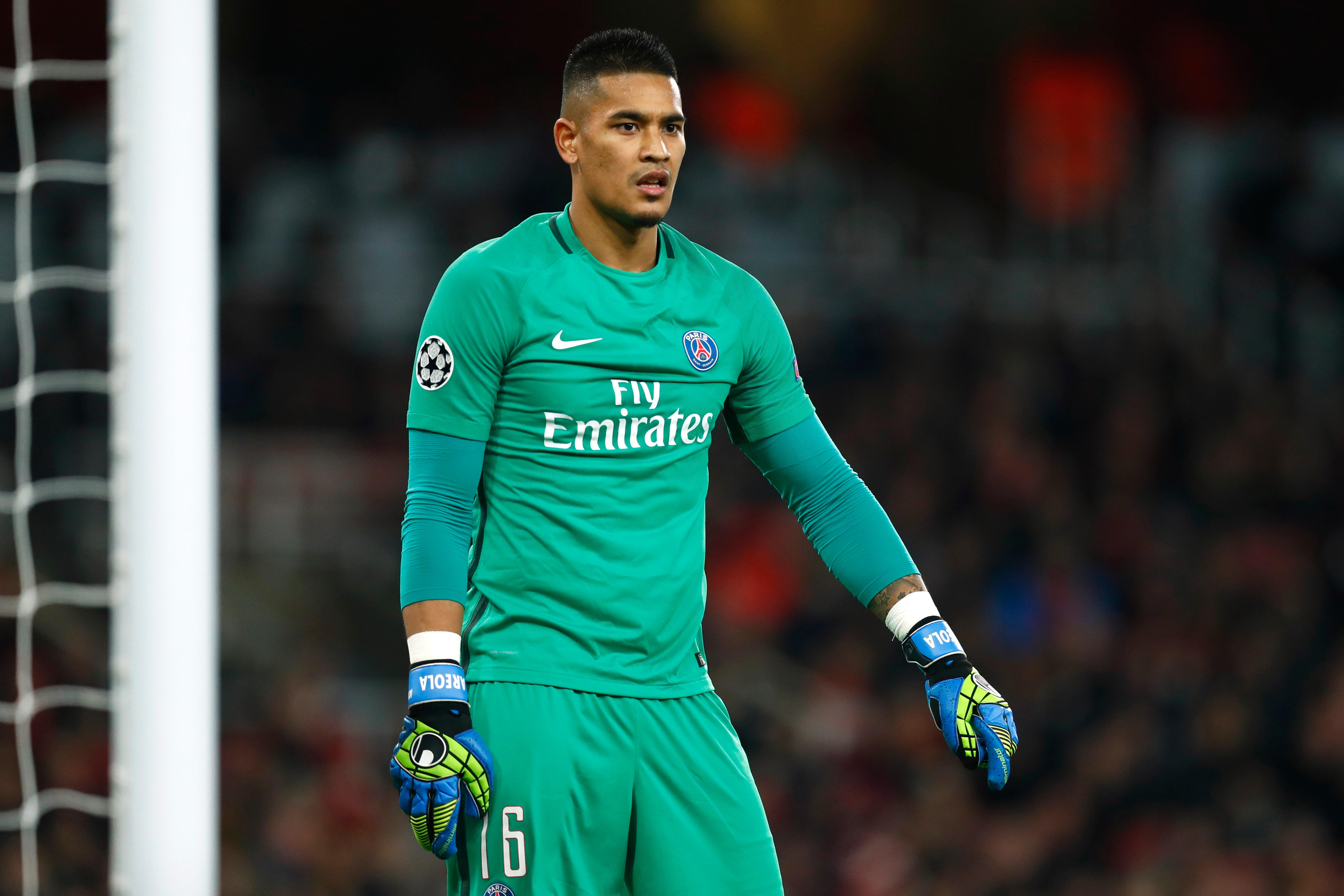Areola Backed To Challenge Courtois