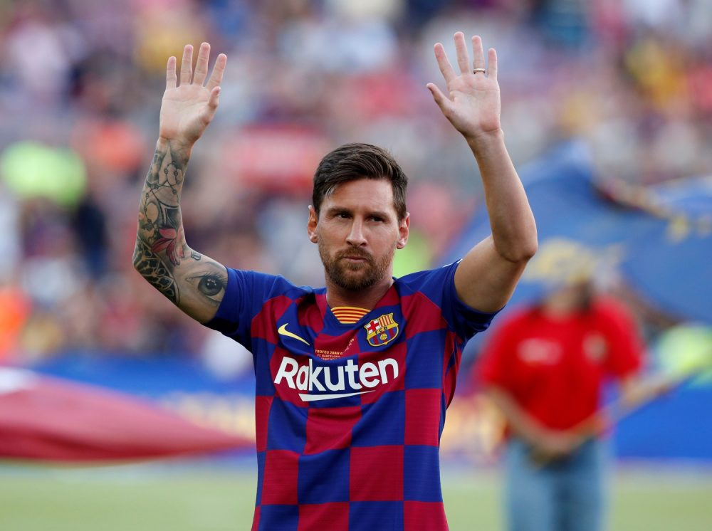 Barca Wait On Messi Ahead Of Champions League Opener