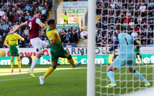 Dyche Delighted To See Wood Get Off The Mark