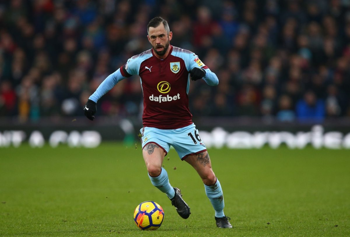 Dyche Wants To See Winger Back In Training