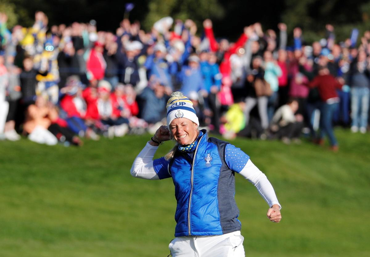 Europe Clinch Solheim Cup In Thrilling Climax