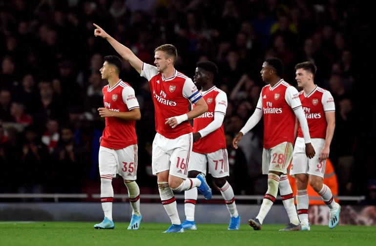 Gunners Boss Emery Salutes Holding After Forest Rout