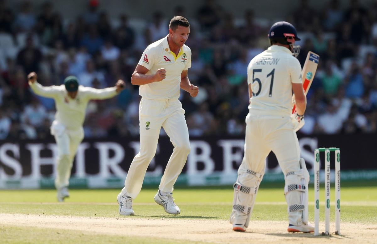 Hazlewood 'Feeling Good' For Ashes Finale