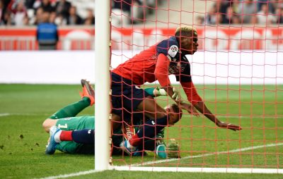 victor-osimhen-lille-french-ligue-1-angers-osc-super-eagles