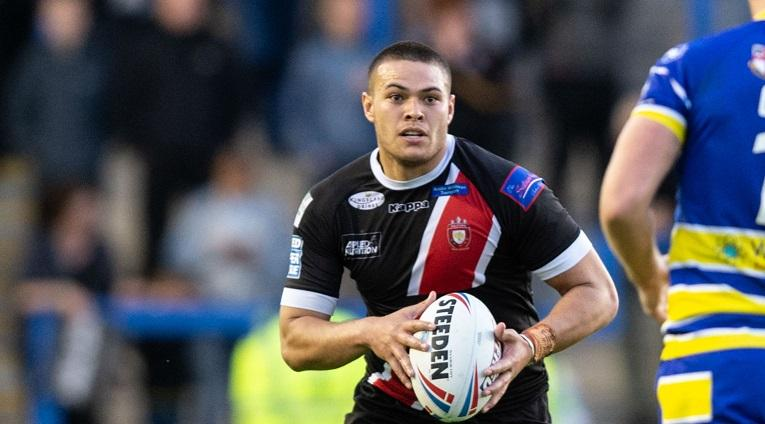 Lolohea Happy Again At Salford