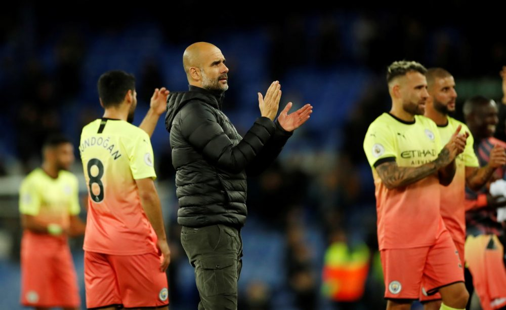 Guardiola Relieved To Get Goodison Win And Keep Reds In Range