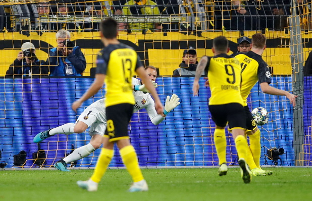 Reus Takes Positives From Missed Barca Chance