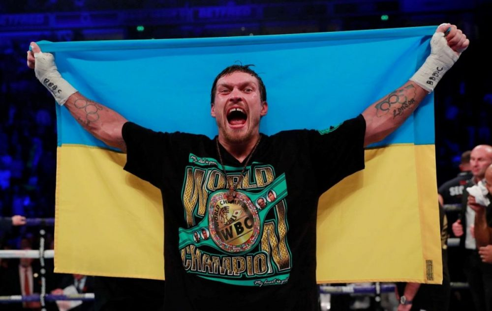 Usyk Confirms Opponent For Heavyweight Debut