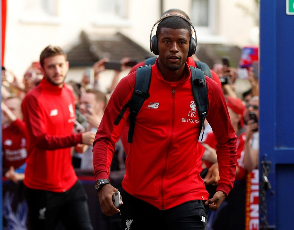 Wijnaldum Not Feeling Title Pressure