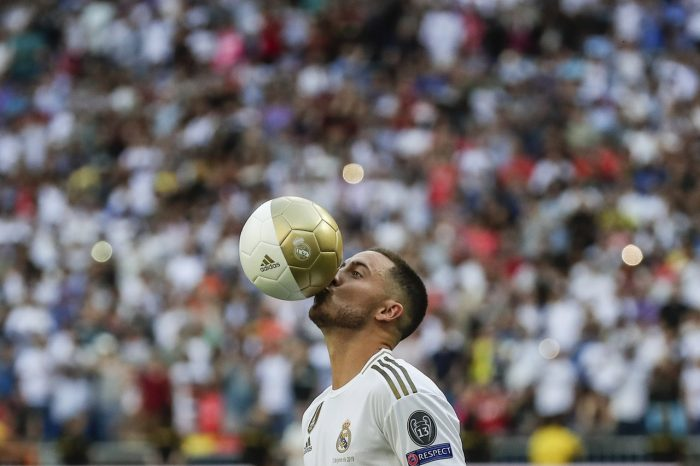 Zidane Urges Caution On Hazard
